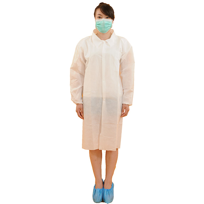 Nonwoven Lab Coat