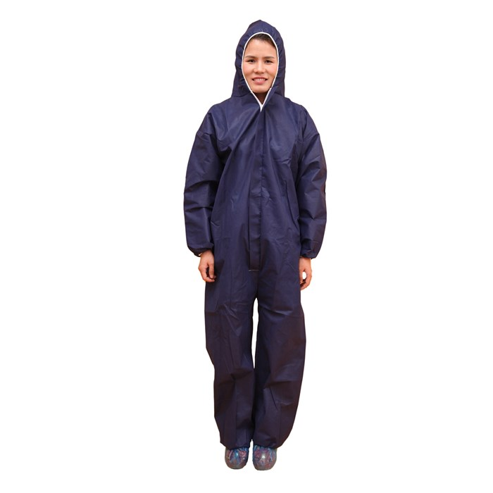 Nonwoven Dark Blue coverall