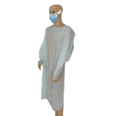 CPE Protective Gown For Food Processing