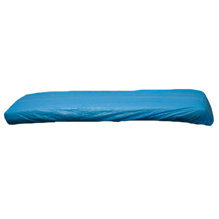 CPE Plastic Disposable Blue Bed Cover